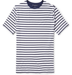 Derek Rose Alfie Striped Stretch-Modal Jersey T-Shirt