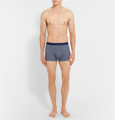 Derek Rose Star Pima Cotton Boxer Briefs