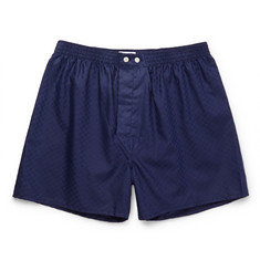 Derek Rose Lombard Cotton Boxer Shorts