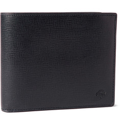 Mulberry Cross-Grain Leather Billfold Wallet