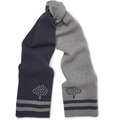 Mulberry Wool and Cashmere-Blend Scarf