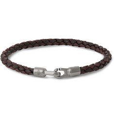 Mulberry Woven Leather Bracelet