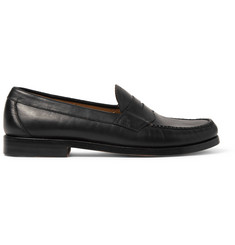 Bass Weejuns Logan Leather Penny Loafers