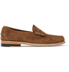 Bass Weejuns Larson Suede Penny Loafers