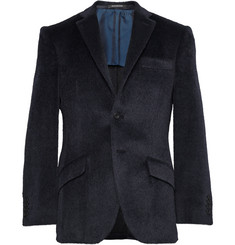 Richard James Navy Seishin Slim-Fit Baby Llama and Wool-Blend Blazer