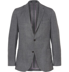 Richard James Hopsack Wool Blazer