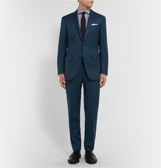 Richard James Blue Hyde Wool Suit