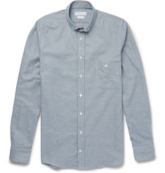 Richard James Puppytooth Brushed-Cotton Shirt