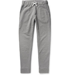 Tomas Maier Fleece-Backed Cotton-Blend Jersey Sweatpants