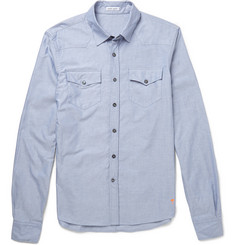 Tomas Maier Salt-Washed Cotton Oxford Shirt
