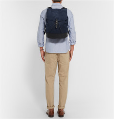Tomas Maier Suede Backpack