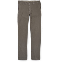 Massimo Alba Winch Herringbone Cotton-Blend Trousers