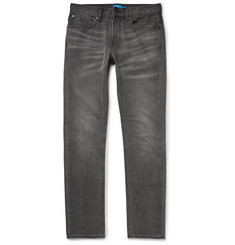 Club Monaco Slim-Fit Washed-Denim Jeans