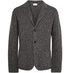 Club Monaco Marled Wool and Cotton-Blend Blazer