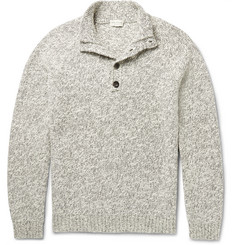 Club Monaco Marled Cotton Sweater