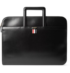 Thom Browne Polished-Leather Document Holder