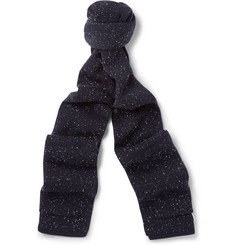 Thom Browne Flecked Wool Scarf