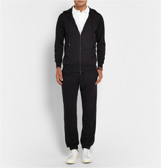 John Smedley Capstan Hooded Cashmere and Silk-Blend Zip-Through Cardigan
