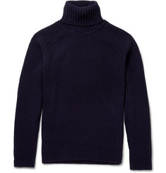 John Smedley Lode Merino Wool and Cashmere-Blend Sweater