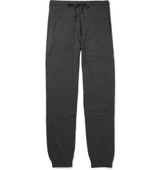 John Smedley Decagon 24-Gauge Merino Wool Sweatpants
