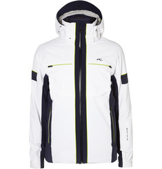 Kjus Downforce Hooded Stretch-Shell Jacket