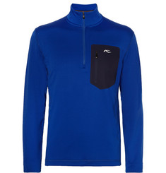 Kjus Hydraulic Half-Zip Stretch-Jersey Base Layer Top