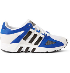 adidas Originals Equipment Running Guidance 93 Faux-Suede and Mesh Sneakers