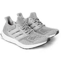 adidas Originals - Ultra Boost Rubber-Trimmed Mesh Sneakers