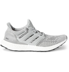 adidas Originals Ultra Boost Rubber-Trimmed Mesh Sneakers