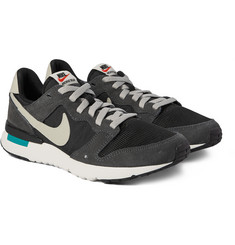 Nike Archive 83.M Suede, Canvas and Mesh Sneakers