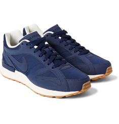 Nike Air Pegasus Racer Suede and Mesh Sneakers