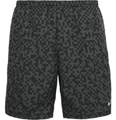 Nike Running Megapixel Distance Printed Dri-FIT Jersey Shorts