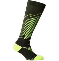 Nike Elite Compression OTC Stretch-Knit Dri-FIT Running Socks