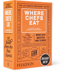 Phaidon Where Chefs Eat, Volume 2 Hardcover Book