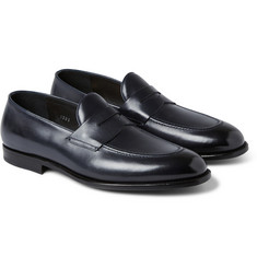 O'Keeffe Samuel Leather Penny Loafers