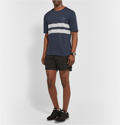 Iffley Road Cambrian Striped Dri-Release Running T-Shirt