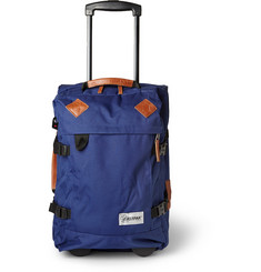 Eastpak Tranverz S Leather-Trimmed Wheeled Suitcase