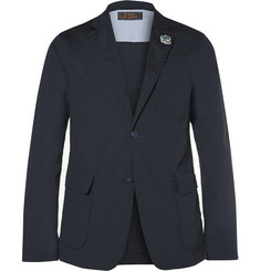 Beams Plus Navy Slim-Fit Unstructured Cotton-Blend Suit Jacket
