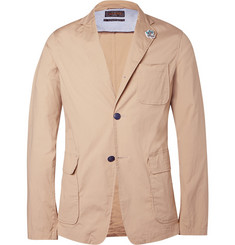 Beams Plus Sand Slim-Fit Unstructured Cotton-Blend Suit Jacket