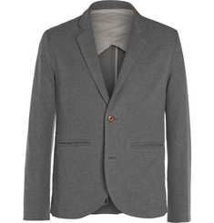 Folk Grey Cotton Suit Jacket