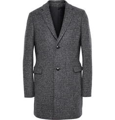 Folk Wool-Tweed Overcoat