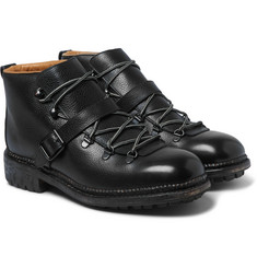 O'Keeffe - Alvis Leather Lace-Up Boots