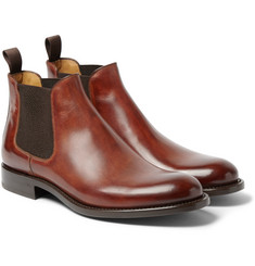 O'Keeffe Algy Hand-Polished Leather Chelsea Boots