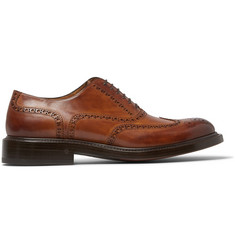 O'Keeffe Felix Bravo Brandy Leather Brogues