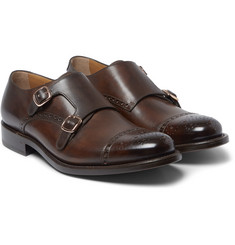 O'Keeffe - Algy Leather Monk-Strap Shoes