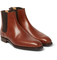 George Cleverley Leather Chelsea Boots