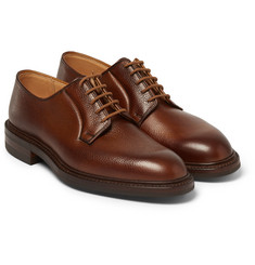 George Cleverley - Pebble-Grain Leather Derby Shoes