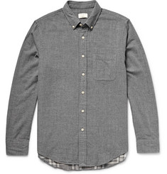 Club Monaco Slim-Fit Double-Faced Cotton Shirt