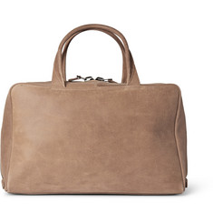 Álvaro Brushed-Leather Holdall
