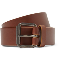 Álvaro - 3.5cm Brown Leather Belt